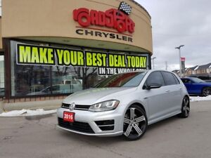 2016 Volkswagen Golf R NAVI 296 hp 4MOTION TECH PKG CLEAN CARPRO