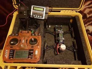 FPV carbon racing quad copter and ground bo trade for dslr camera Kingston Logan Area Preview