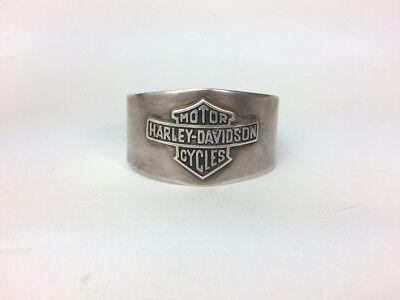 EXTREMELY RARE - Harley Davidson Sterling Silver Cuff Bracelet Unisex