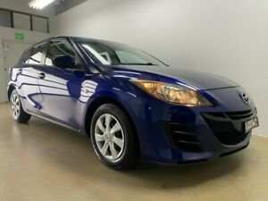 2010 Mazda 3 BL Neo Blue 6 Speed Manual Hatchback