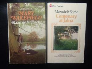 Lot 2 JALNA pb Mazo de la Roche MARY WAKEFIELD Pan / CENTENARY AT JALNA Fawcett