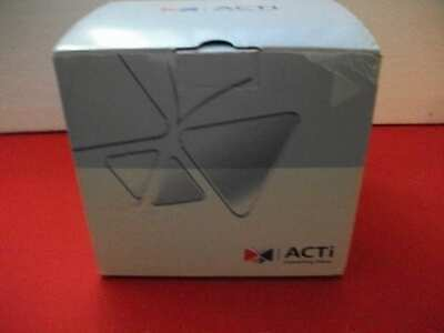 ACTi CCTV SECURITY SURVEILLANCE DOME CAMERA MODEL #KCM-7111 4MP WHITE NEW IN BOX Security Surveillance Box Camera