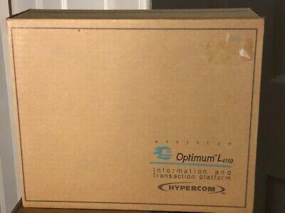 Hypercom Optimum L4150 Credit Card Terminal Signature Capture Device