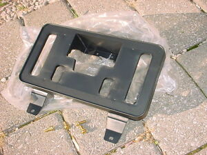 honda pilot front license plate mount bracket oem 2009. Black Bedroom Furniture Sets. Home Design Ideas