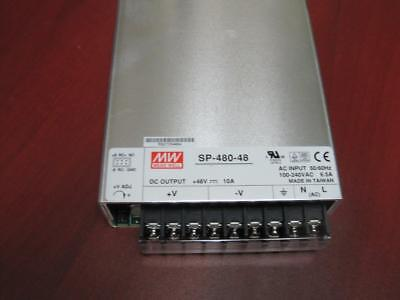 Mean Well Sp-480-48. 48 Volt Power Supply New