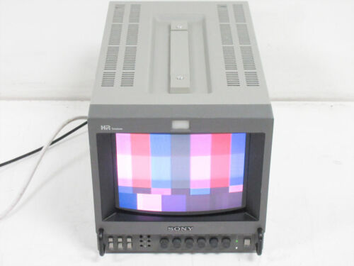 "SONY PVM-8044Q HR TRINITRON COLOR PRODUCTION MONITOR 8"" ~ UNIT C II"