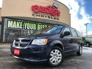 2016 Dodge Grand Caravan CANADA VALUE PACKAGE LOW KMS THIRD ROW