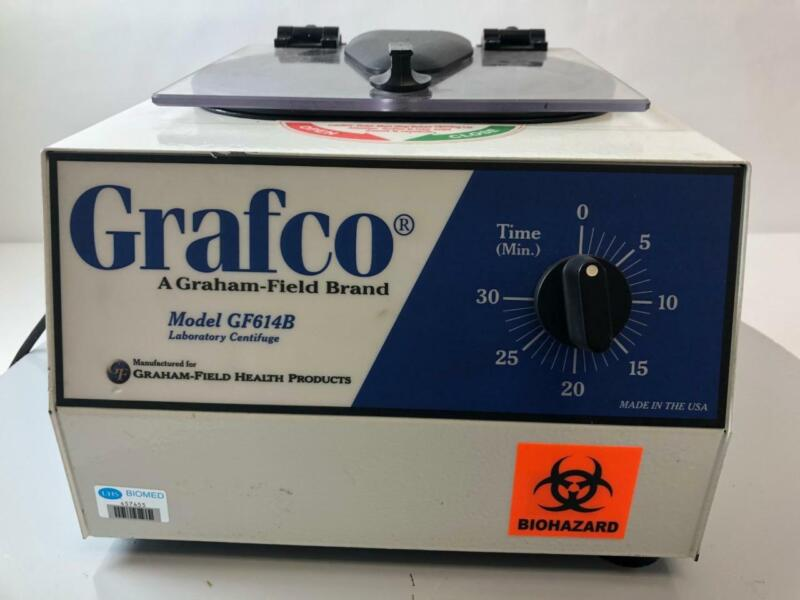 Grafco Laboratory Centrifuge GF614B with Rotor *TESTED*