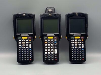Lot Of 3 Motorola Mc3190 Barcode Scanner.