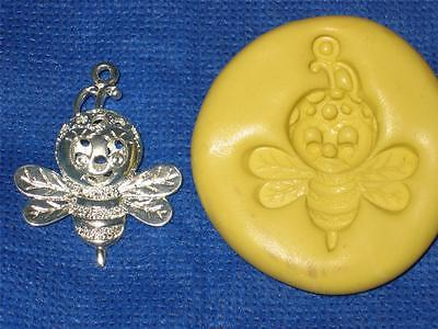 Buzz Bumble Bee Push Mold Food Safe Silicone #982 Candy Resin Clay - Bumble Bee Candy