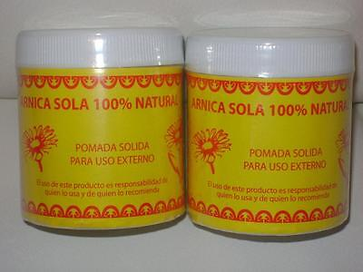 2 Pack   Pomada De Arnica 100 Natural For Cramps Bruises  Arthritist Contussions