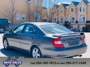 2003 Toyota Camry SE 1 OWNER! 2 SETS TIRES! LOW KM!