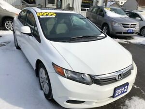 2012 Honda Civic EX, With Sunroof