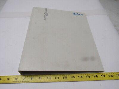 Weeke Bp-140 Atc Optimat Cnc Machining Center Wiring Manual