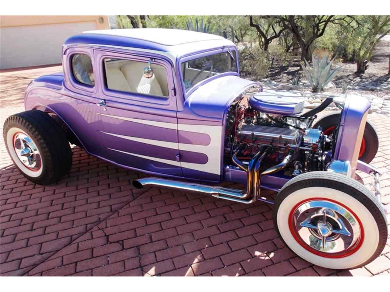"1932 Ford DELUXE COUPE MODEL 18 1932 FORD 5 WINDOW COUPE ""ALL STEEL CHOPPED AND CHANNELED"""