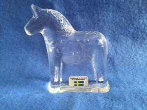 Lindshammar Dala Glass Horse - Handmade in Sweden