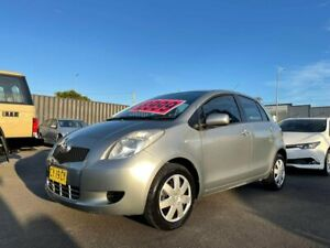2007 Toyota Yaris NCP91R YRS Silver 5 Speed Manual Hatchback Tweed Heads South Tweed Heads Area Preview