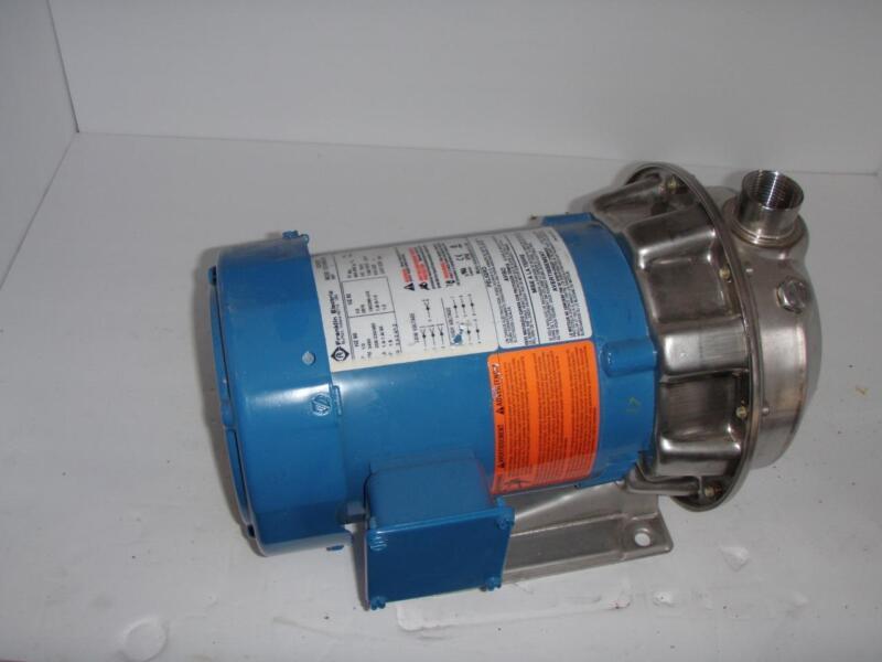 Gould Pumps, ITT Industries Inc. 316 SS Model NPE Centrifugal Pump w/ Motor