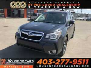 2015 Subaru Forester 2.0XT Touring / Leather / Sunroof / Cam