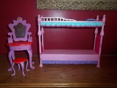 Barbie Bed and Vanity Set