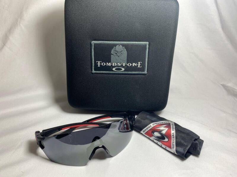 New Oakley SI Military TOMBSTONE SPOIL Sunglasses/Shooting Glasses Black Iridium