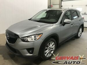 2015 Mazda CX-5 GT AWD GPS Cuir Toit Ouvrant MAGS Bluetooth Camé