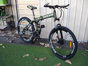 Green folding Mountain Bike Kingsford Eastern Suburbs Preview