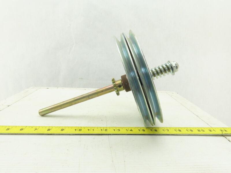Industrial Side Mount Garage Door Opener 2 Belt Drive Friction Clutch Assembly