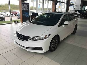 2013 Honda CIVIC EX SEDAN 5-speed Automatic! Sporty-looking!
