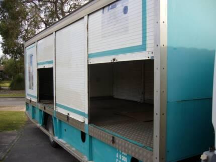 Truck Tray Roller door sliders,  off a UD Water Truck Eden Hill Bassendean Area Preview