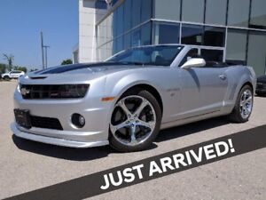 2011 Chevrolet Camaro SS 6 SPD MANUAL | LEATHER | CONVERTIBLE