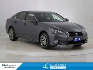 2014 Lexus GS 350 AWD, Navi, Sunroof, Heads Up Display!