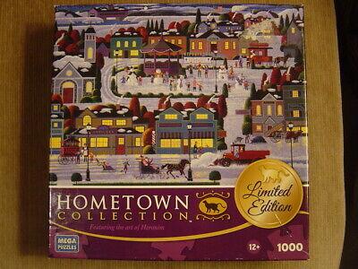 Mega 1000 BEST OF SNOW Christmas snowman winter carolin jigsaw puzle USED