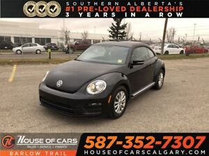 2017 Volkswagen Beetle 1.8 TSI Classic / Back Up Camera /