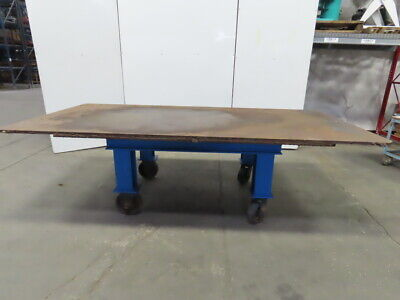 H.d. 1 Thick Top Steel Fabrication Layout Welding Table Work Bench 61x121