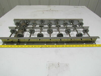 10 Wide Gravity Skate Wheel Conveyor Approximately 28-12 Long