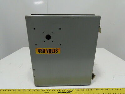 Hoffman A14128-ch 14x12x8 Type 12 13 Electrical Enclosure Wback Plate