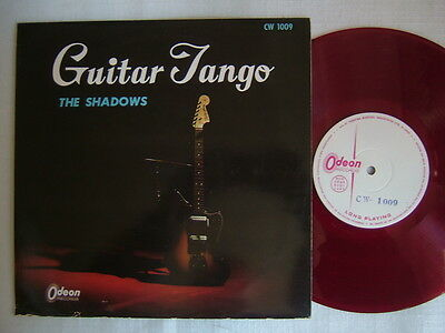 TEST PRESS RED VINYL / THE SHADOWS GUITAR TANGO / 10INCH