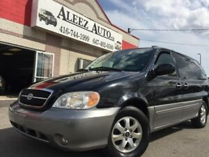 2005 Kia Sedona Luxury Package , full options , Very low KM!!!!