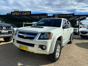 2010 Holden Colorado RC MY11 LT-R (4x4) White 4 Speed Automatic Crew Cab Pickup