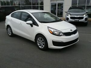 2017 Kia Rio LX+ Auto Heated seats, Air, Warranty to 2022.