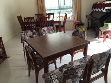 Dining table with 6 chairs Eastwood Ryde Area Preview