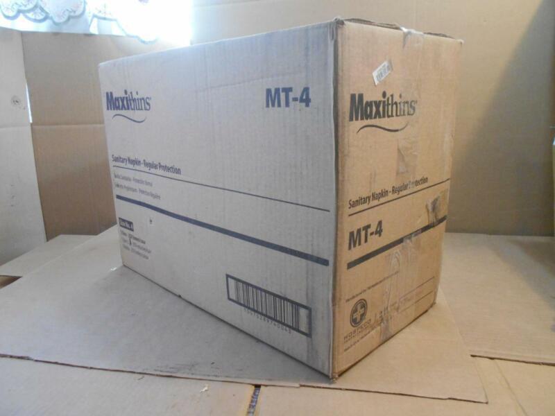 "250 Indiv. Boxed) ""HOSPECO"" #MT4, MT-4, ""Maxithins"" Vended Sanitary Napkin #4 ~"