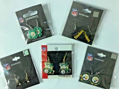 Pittsburgh Steelers Cake (Holiday Collection Lot 5 Pittsburgh Steelers Earrings St. Patty's Christmas)