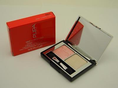 PUPA Vamp! Compact Eyeshadow Duo 001 Rose Pearlage - - Pupa Rose