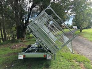 Ozzi 10x6 3 Way Tipper Trailer Molendinar Gold Coast City Preview
