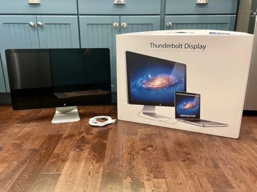 Apple Thunderbolt Display 27-Inch LCD Widescreen QHD Excellent