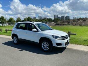 2016 Volkswagen Tiguan 5N 118TSI Wagon 5dr DSG 6sp 2WD 1.4TSC MY16 White