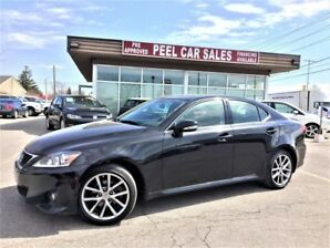 2013 Lexus IS 250 IS250|SPORT|2.5L|AWD|BLKONBRWN|