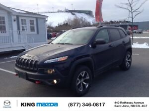 2015 Jeep Cherokee T/H- $250 B/W TRAILHAWK..4x4..LOW KMS..HEATED